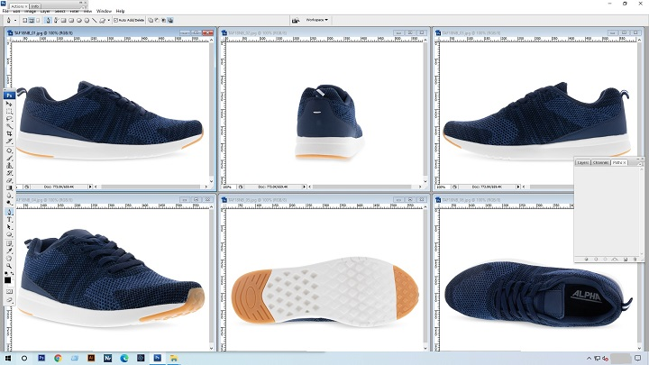 Completed Ecommerce Photo in Photoshop